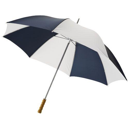 """Parapluie golf 30"""" avec poignée en bois Karl Fashion Goodiz goodies objet personnalisé cadeaux d affaire objets publicitaires"""