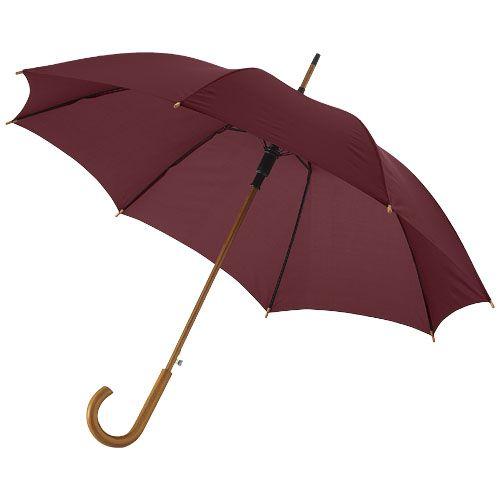 """23"""" Kyle-sateenvarjo, automaattisesti avautuva, puinen varsi"""