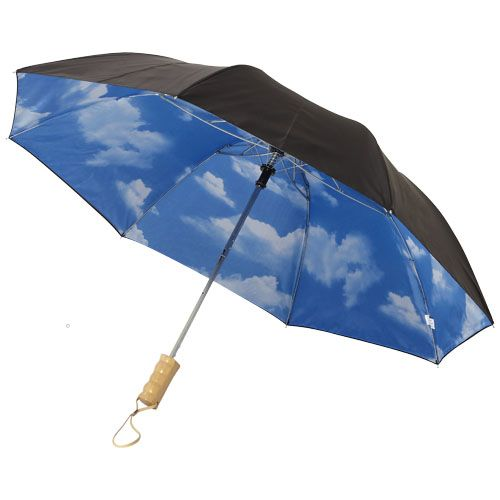 """Parapluie pliable à ouverture automatique 21"""" Blue-skies"""