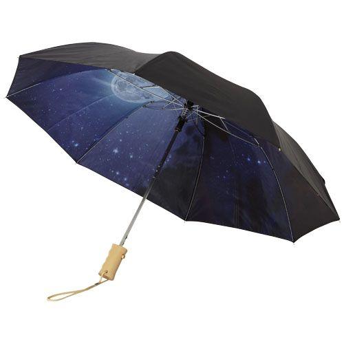 """Parapluie pliable à ouverture automatique 21"""" Clear-night"""