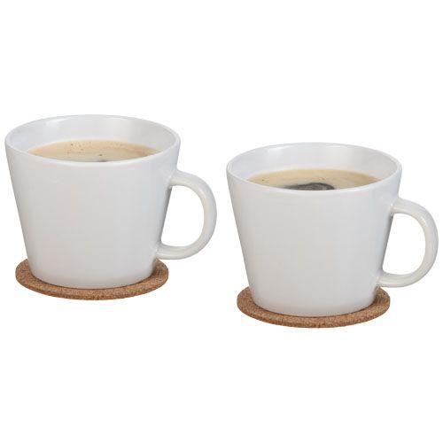 Ensemble de 2 tasses avec sous-tasse Hartley