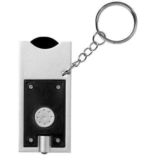 Porte-clés LED et porte-jeton Allegro  personnalisé montpellier Paris Ile de France