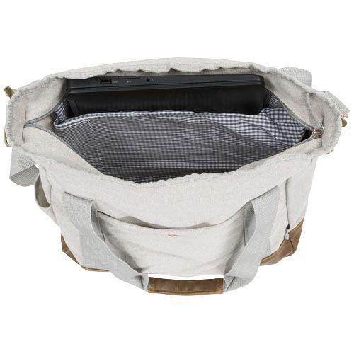 Harper zippered cotton canvas tote bag ADLANTIC IE SALES LTD WICKLOW A98 D282