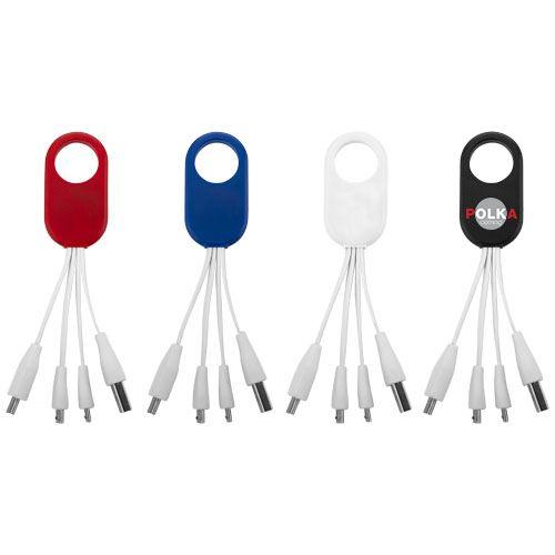 Câble USB multi ports type C 4 en 1 Troup