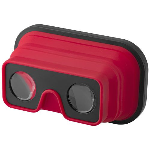 Kokoontaitettavat silikoniset Sil-val-virtuaalitodellisuuslasit