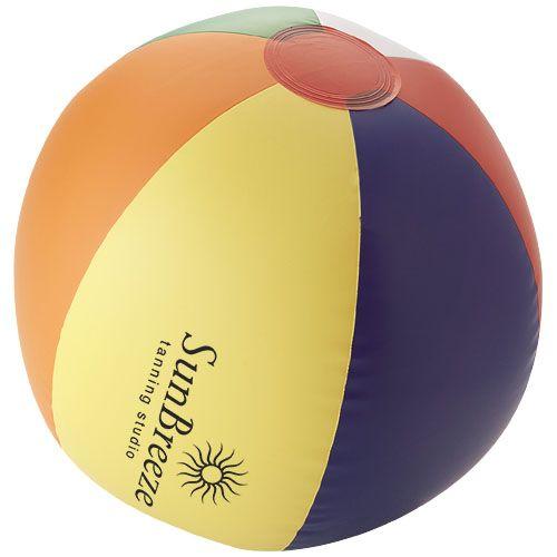 Ballon de plage Rainbow SOBELPU SPRL objet publicitaire personnalisable Belgique