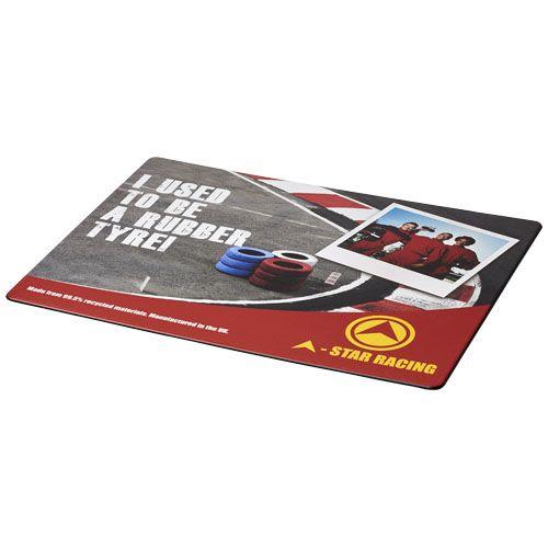 Tapis de souris Brite-Mat® avec matériau pneu