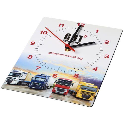 Horloge murale rectangulaire Brite-Clock®