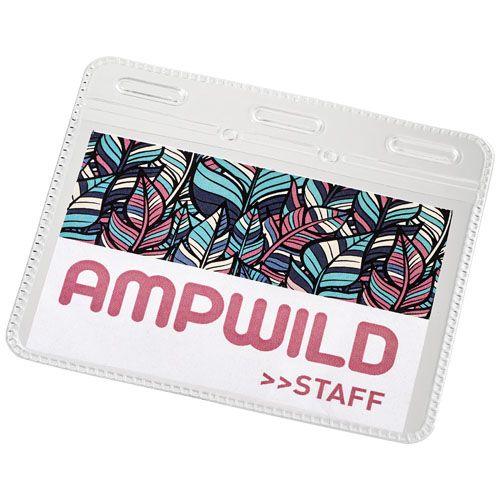 Arell-korttikotelo henkilökortille, läpinäkyvä