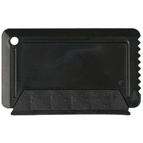 Grattoir à glace taille carte de crédit avec gomme Freeze WIZ PUB