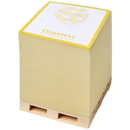 Cube Bloc mémo Block-Mate® Pallet 1A 100 x 100