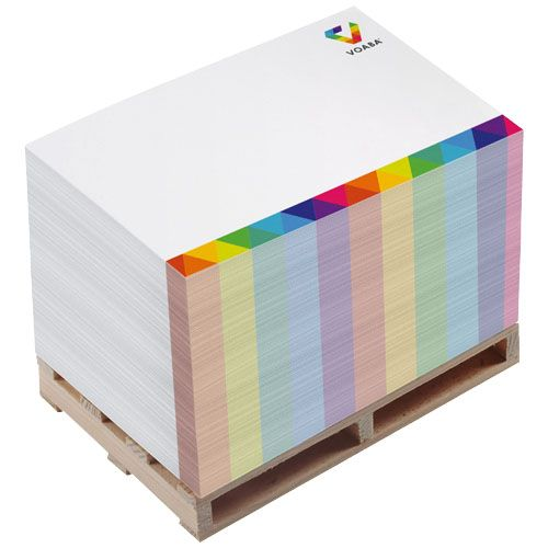 Bloc mémo Block-Mate® Pallet 2A 12x8x7,5 cm