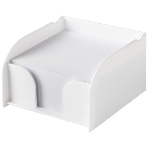 Bloc mémo médium avec support plastique