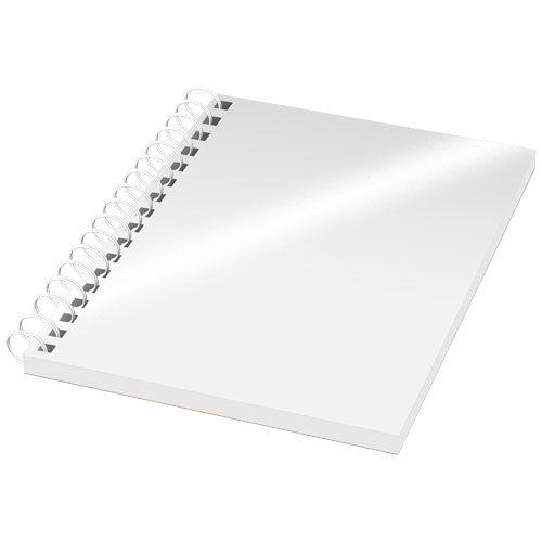 Cahier Desk-Mate® à spirales A6 avec couvertu re PP