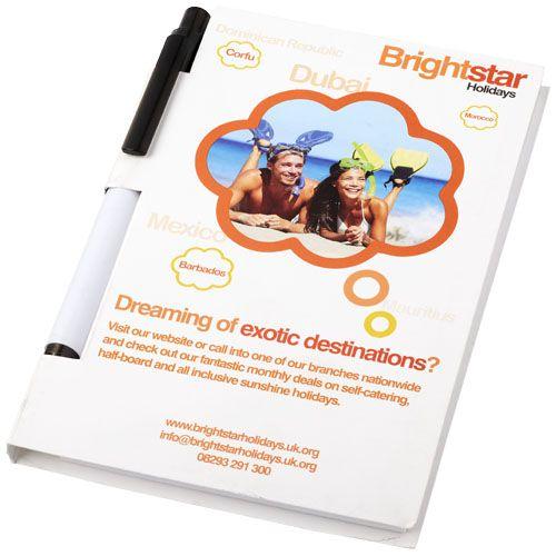 Essential-konferenssipakkaus, jossa A6-koon muistikirja ja kynä
