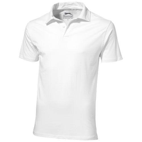 Let short sleeve men's jersey polo