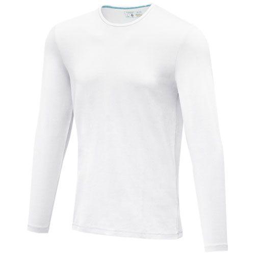 Ponoka miesten pitkähihainen luomu-t-paita