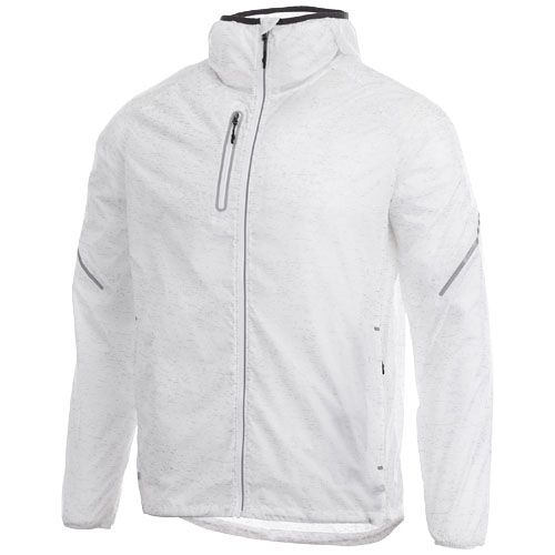 Signal reflective packable jacket