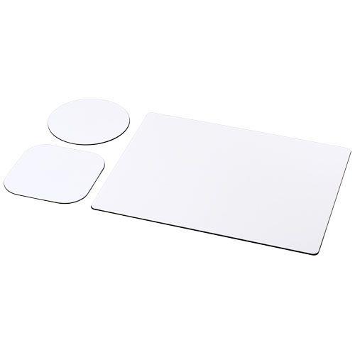 Ensemble de tapis de souris et sous-verre Brite-Mat® par 2G Publicité