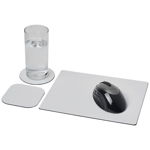 Ensemble de tapis de souris et sous-verre Brite-Mat®