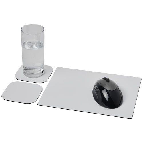 Ensemble de tapis de souris et de dessous de verre Brite-Mat® 3