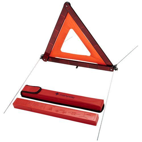Triangle de sécurité et sa pochette de rangement Carl