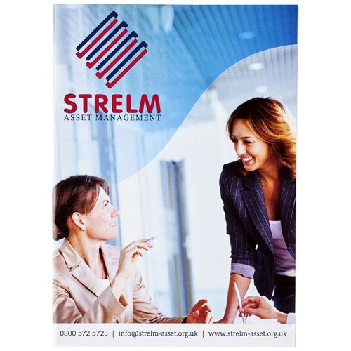 Bloc-notes Desk-Mate® A5 avec couverture SOBELPU SPRL objet publicitaire personnalisable Belgique