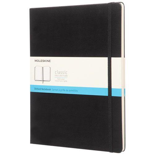 Classic XL -muistikirja, kovakantinen - pisteviivoitettu