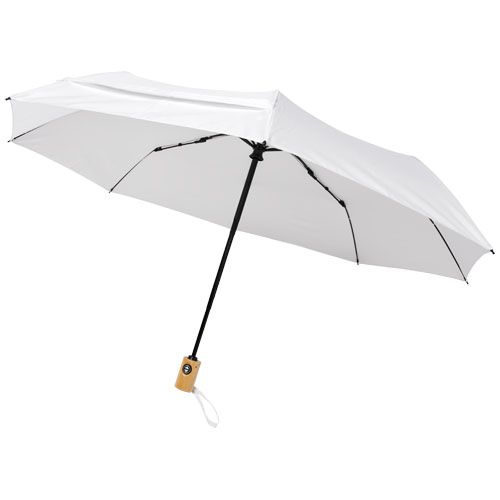 """Parapluie en RPET pliable 21"""" à ouverture/fermeture automatique Bo"""