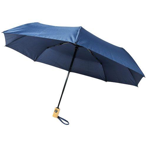 Bo-sateenvarjo, 21 tuumaa, automaattinen, PET-kierrätysmuovia