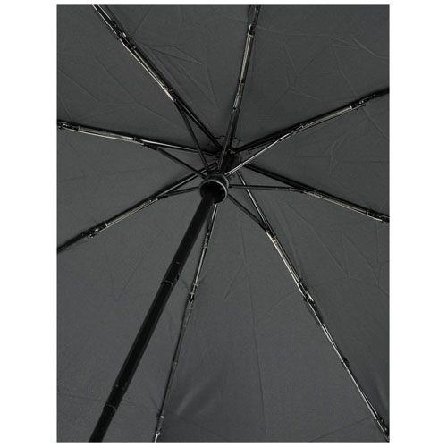 """Parapluie en RPET pliable 21"""" à ouverture/fermeture automatique Bo personnalisé goodies entreprise cadeau personnalisé goodies pub objet publicitaire eure et loir goodies publicitaire objet publicitaire personnalisé 28600 Luisant"""