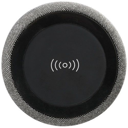 "Coluna Bluetooth® de carregamento sem fios ""Fiber"" brindes LISBOA"