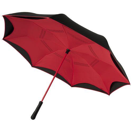 "Guarda-chuva de 23'' com cabo reto, colorido no verso ""Yoon"""