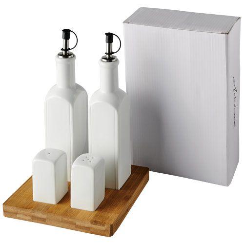 """Conjunto de condimentos de mesa """"Mateo"""" brindes LISBOA"""