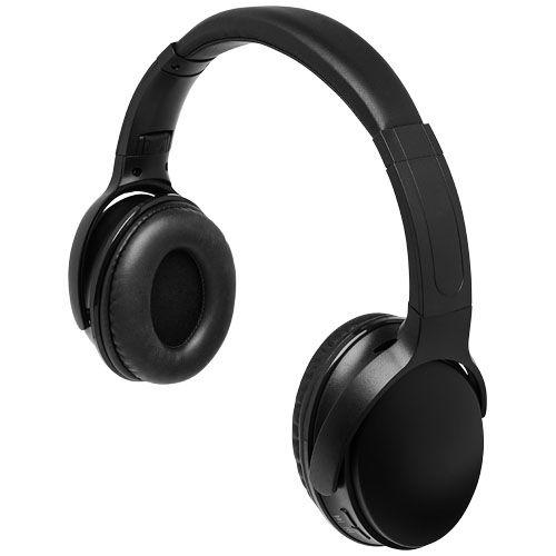 Blaze-kuulokkeet, joissa valaistu logo