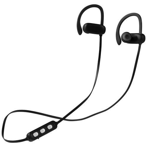 Brilliant Bluetooth® -nappikuulokkeet, joissa valaistu logo