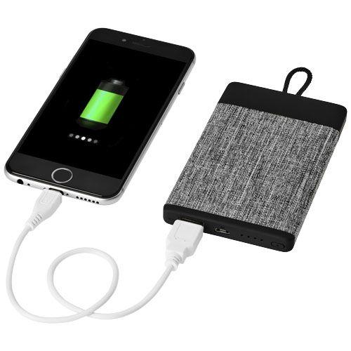 Batterie de secours 4000mAh en tissu Weave par 2G Publicité