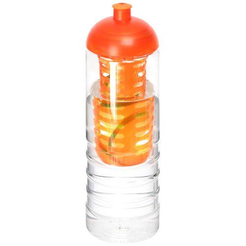 Bouteille et infuseur H2O Treble 750ml avec couvercle dôme