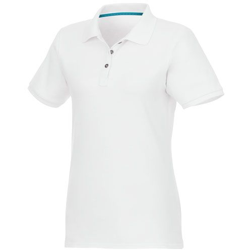 Beryl short sleeve women's GOTS organic GRS recycled polo