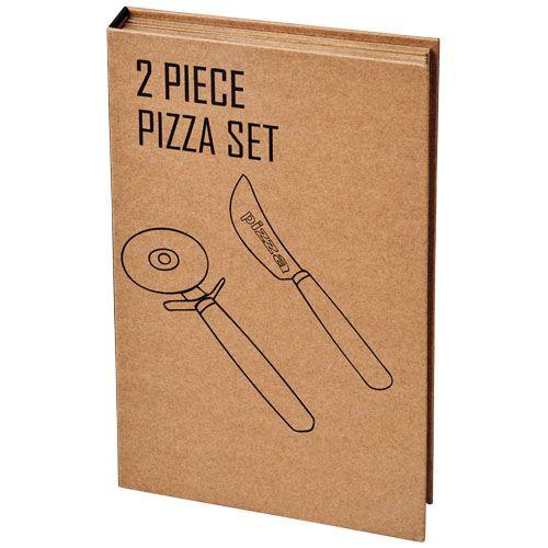 """Conjunto para pizza de 2 peças """"Reze """" brindes LISBOA"""