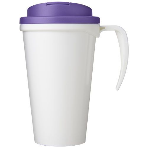 Brite-Americano Grande 350 ml mug with spill-proof lid brindes LISBOA