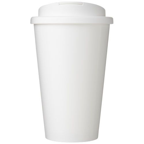 Brite-Americano® 350 ml tumbler with spill-proof lid brindes LISBOA