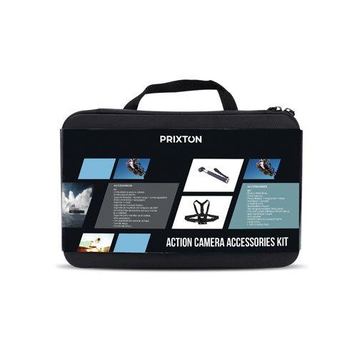 Prixton Kit610 action camera tarvikkeet