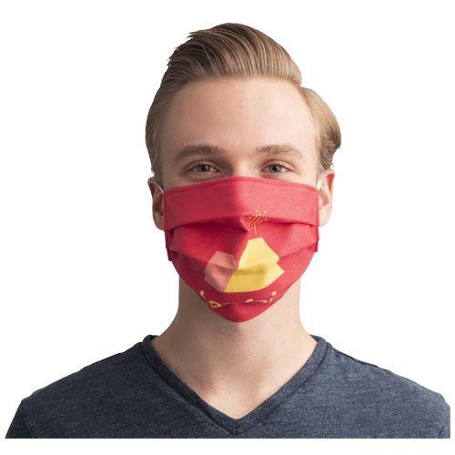 Masque réutilisable avec sublimation et attaches élastique