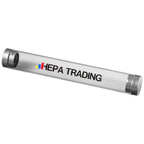 Tube transparent pour 1 stylo Felicia Objets publicitaires  personnalisation  FRANCE SUD PIERRE PF CONCEPT goodies personnalisation marseille