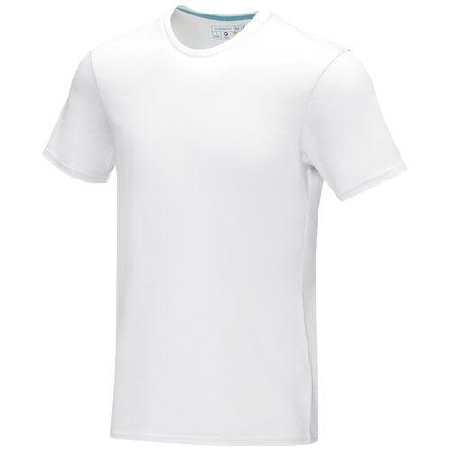 Azurite-T-paita, GOTS-sertifioitu luomupuuvilla, lyhythihainen, miesten