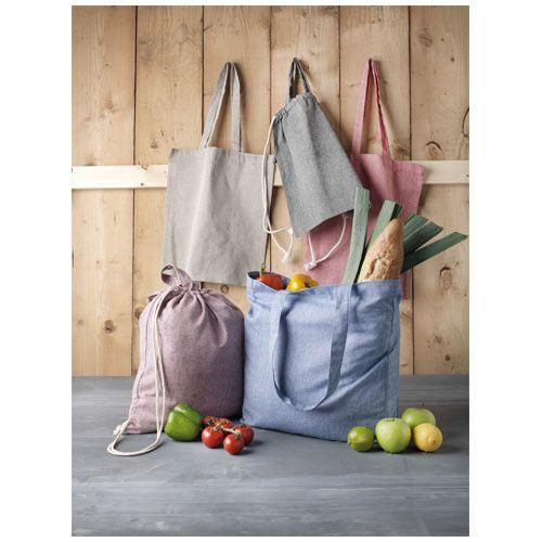 Sac shopping Pheebs recyclé avec soufflet 210gr/m² par 2G Publicité