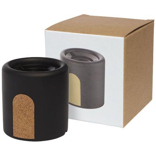 Haut-parleur Bluetooth® Roca en calcaire/liège