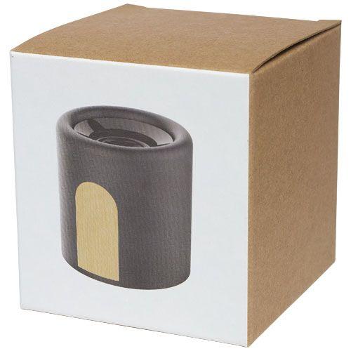 """Coluna Bluetooth® em pedra calcária /cortiça """"Roca"""" brindes LISBOA"""