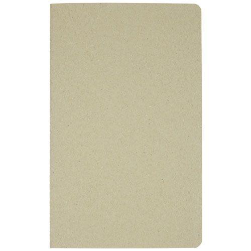 """Caderno em cartão reciclado """"Gianna"""" brindes LISBOA"""